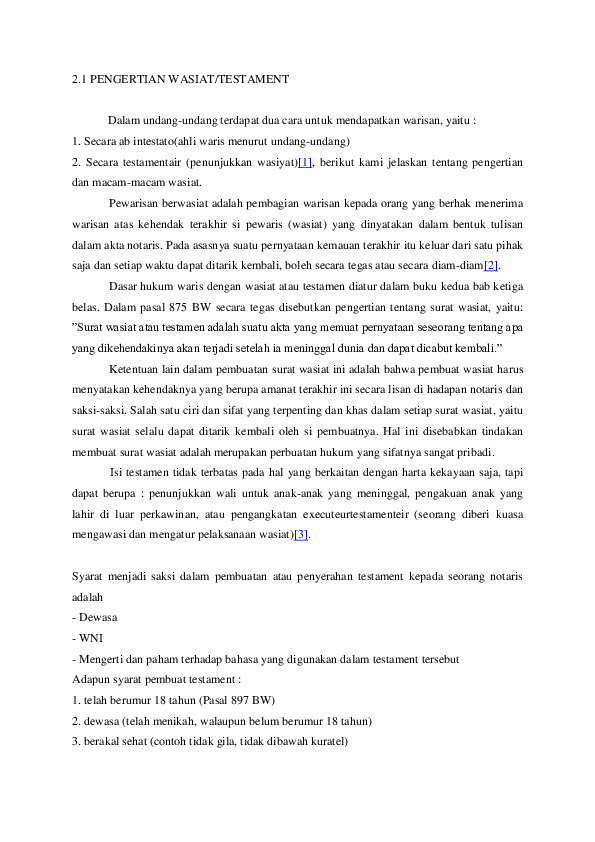 Doc Hukum Waris Husein Yusuf Effendi Academiaedu