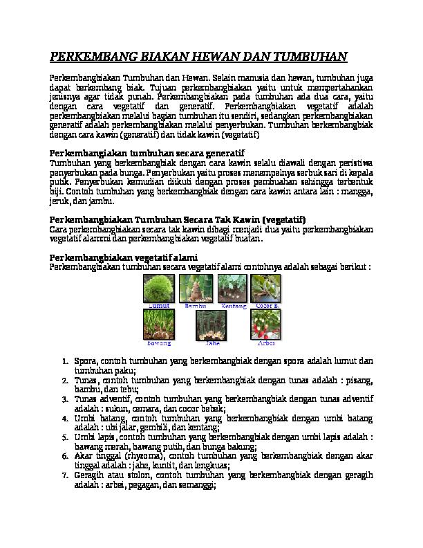 9900 Koleksi Gambar Hewan Yang Berkembang Biak Dengan Vegetatif HD Terbaik