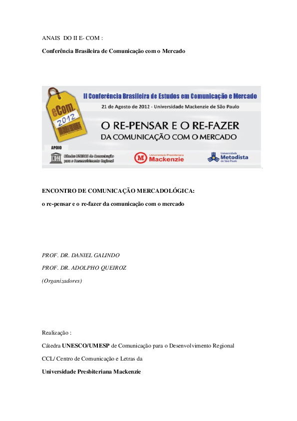 9054f5361cf PDF) A LITERATURA BRASILEIRA E O SURGIMENTO DA PROPAGANDA Marketing ...