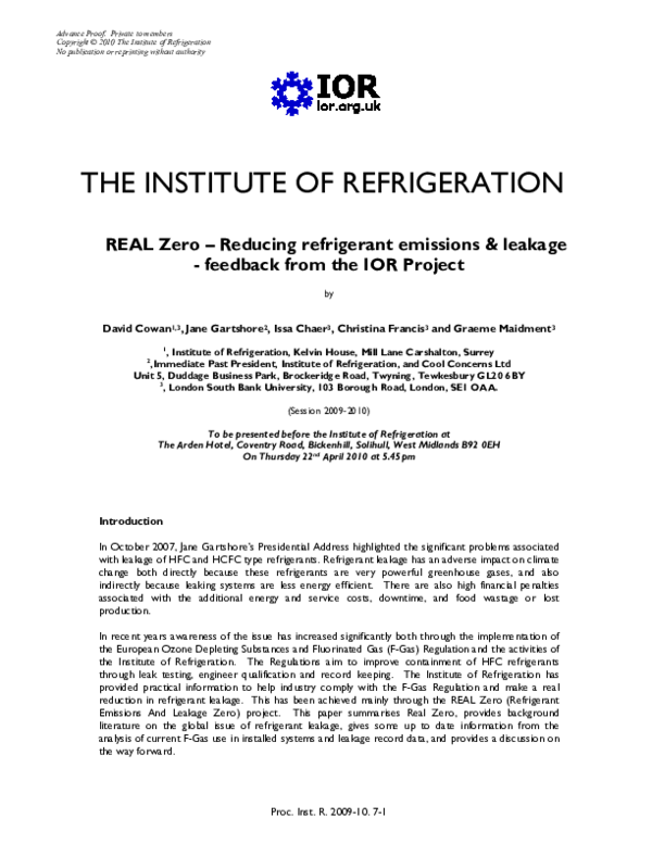 14+Fluorinated Greenhouse Gases Regulations 2009