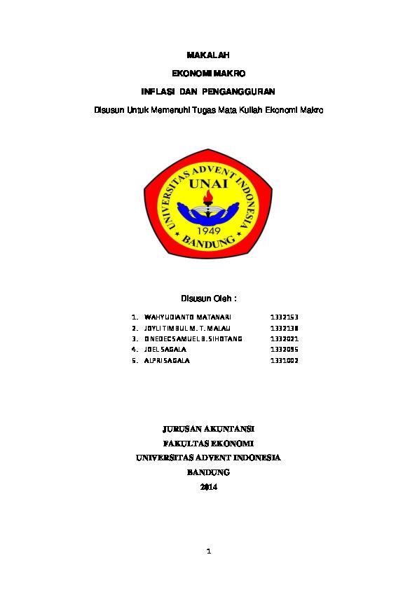 Doc Makalah Ilmu Ekonomi Wahid Nur Fajri Academia Edu