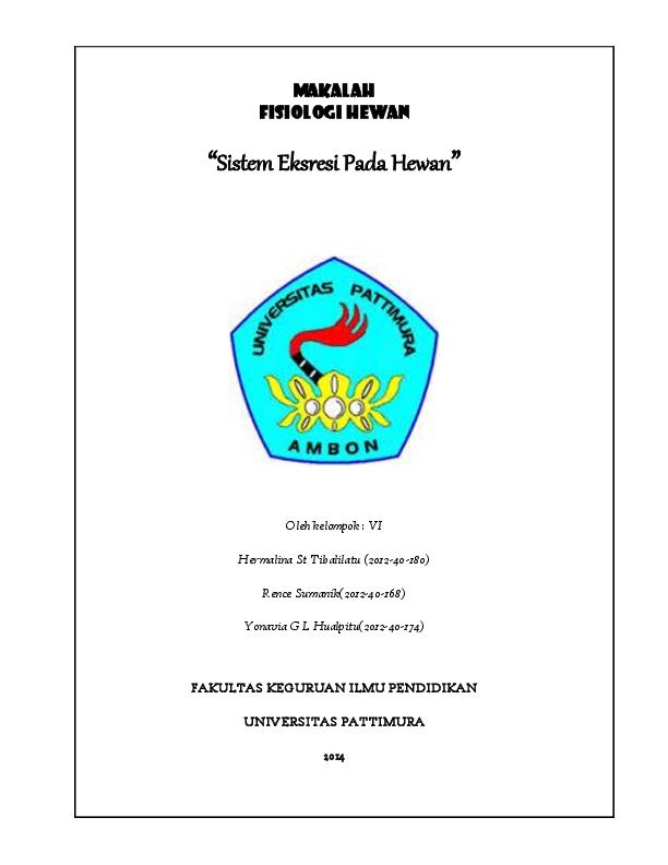 Doc Fisiologi Hewan Lissa Hualpitu Academia Edu