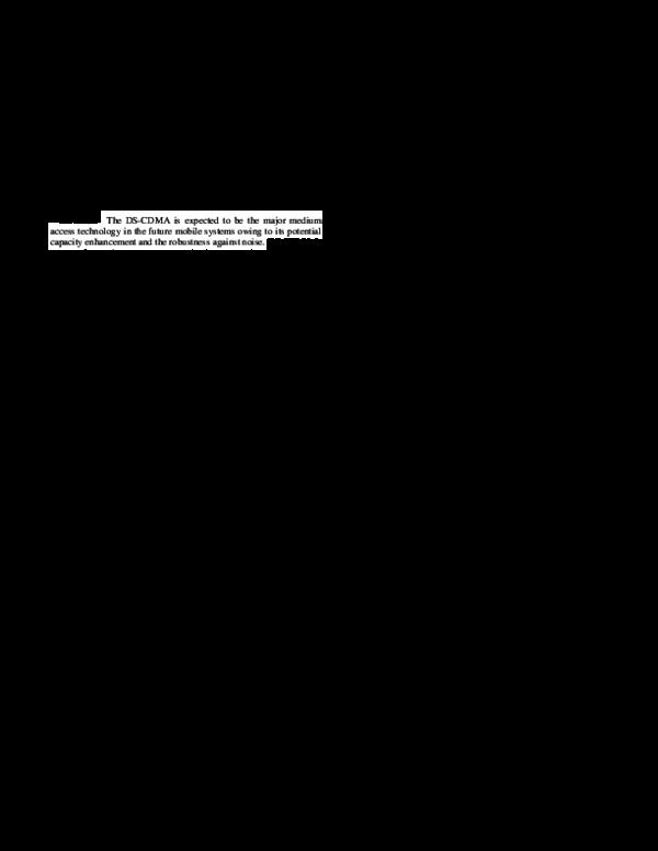 PDF) Transmitter Implementation Using DS-CDMA Technique in