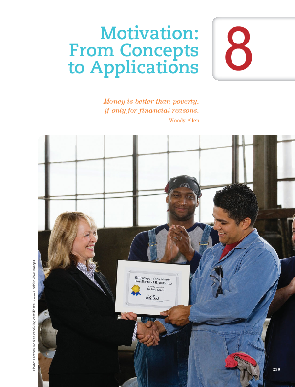 PDF) Chapter 8  Motivation: From Concept to Applications | EA