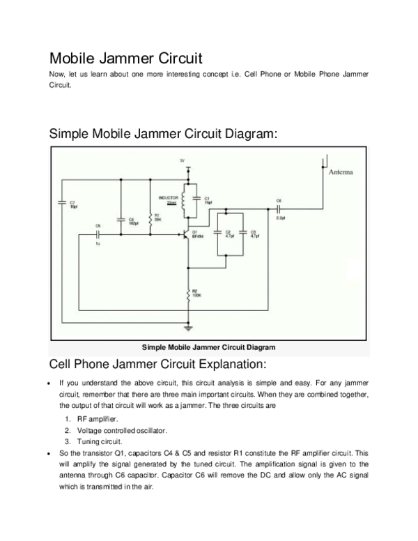 DOC) Mobile Jammer Circuit Simple Mobile Jammer Circuit ... on circuit science, circuit workout, circuit schematic, circuit kvg, circuit cartoon, circuit legend, circuit design, circuit theory pdf, circuit layout, circuit soldering iron, circuit of cycloconverter, circuit problems, circuit symbol, circuit graphic, circuit drawing, circuit line, circuit pattern, circuit style 6, circuit art, circuit wire,