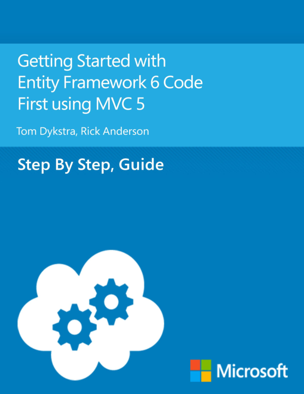 PDF) Getting Started with Entity Framework 6 Code First using MVC 5