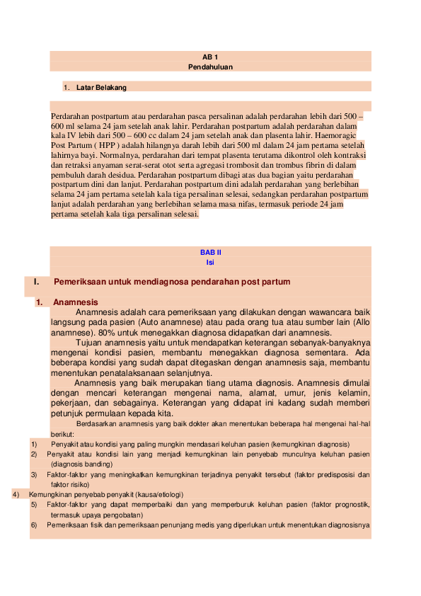 DOC) AB 1 Pendahuluan   Nguroifatul Faridhoh - Academia edu