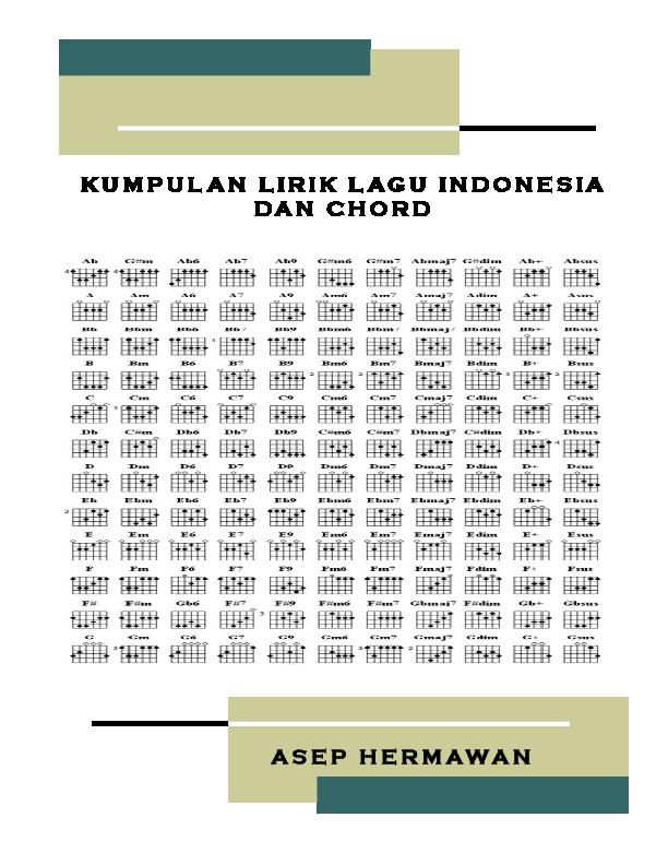 Kumpulan Chord Lagu Indonesia Pdf