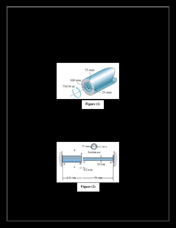 PDF) ASSIGNMENT OF strength of materials | Me STRANGE