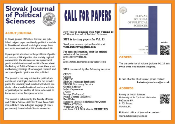 d0b314c19f PDF) Call for Papers - Slovak Journal of Political Sciences
