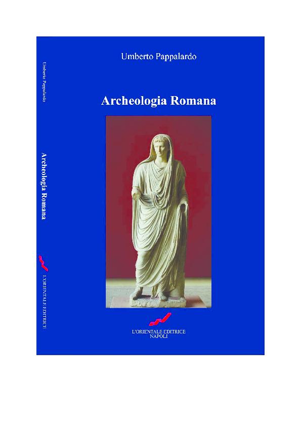 003f1eeb3f Archeologia romana, Napoli (L'Orientale Editrice) 2012, pp. 1-100 e ...