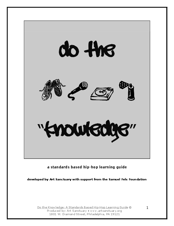 PDF) Do the Knowledge: A standards-based hip-hop teaching and