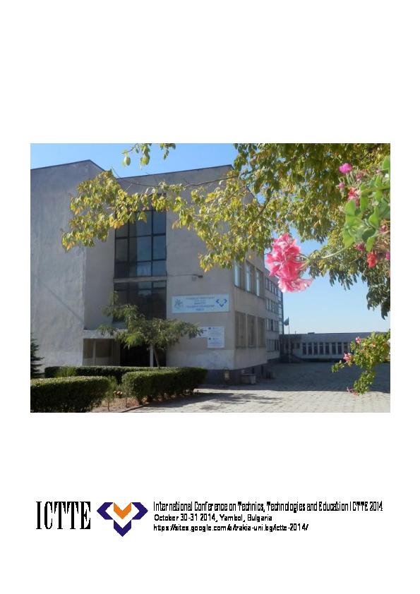 e92be1e19c5 PDF) International Conference on Technics, Technologies and ...