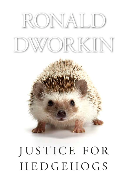 Hedgehogs pdf for justice
