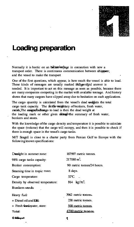 PDF) Loading preparation   Stanimir Ivanov - Academia edu