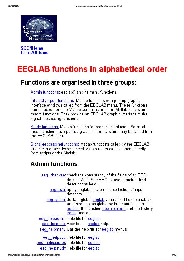 PDF) Eeglab allfunctions index | Mohamed Fouzi - Academia edu
