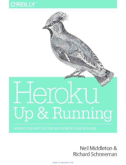 PDF) Heroku: Up and Running | Leandro Pérez - Academia edu