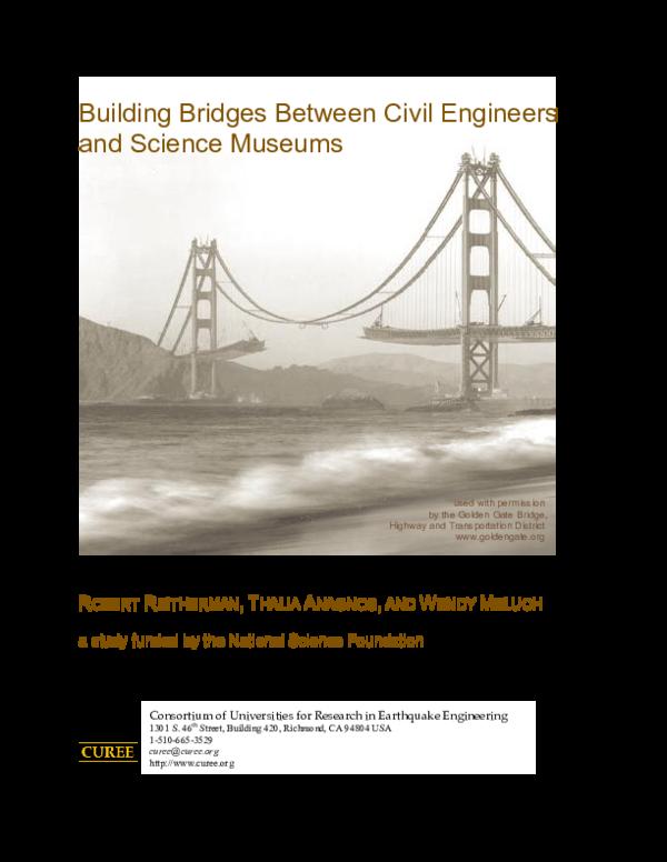 Pdf Building Bridges Between Civil Engineers Science Meuseums Rafiullah Qallander Academia Edu