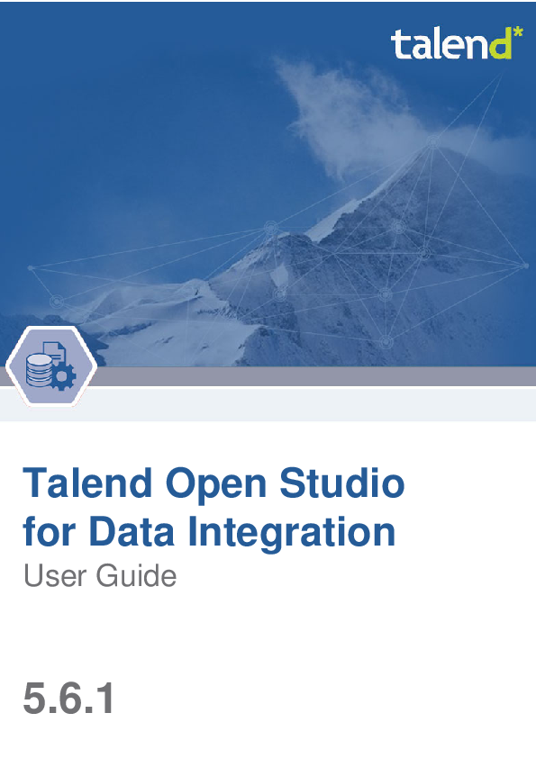 PDF) Talend Open Studio for Data Integration User Guide | viet hoang