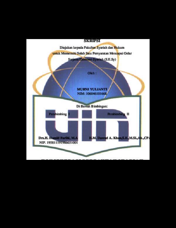 Pdf Program Studi Muamalat Ekonomi Islam Agus Oyi Academia Edu