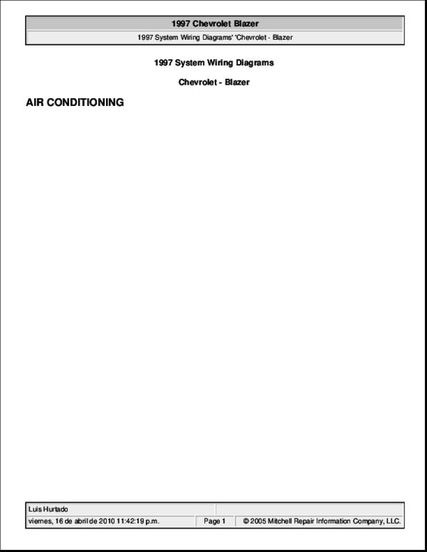 PDF) Blazer 97 - Diagrama A/C Blazer   Darwin Ochoa ... on