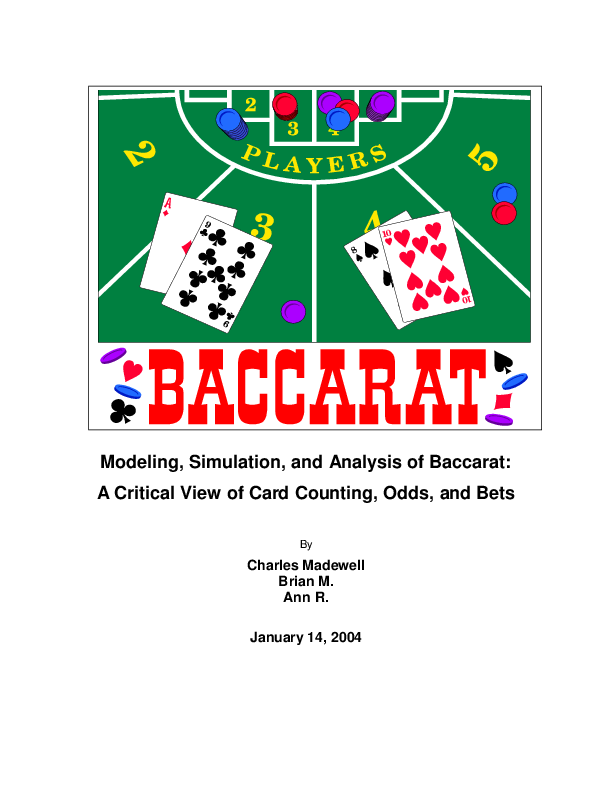 baccarat betting strategy pdf download