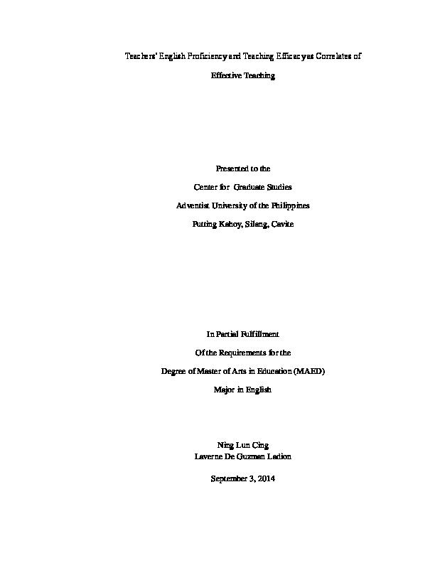 Esp Module Grade 9 Slideshare