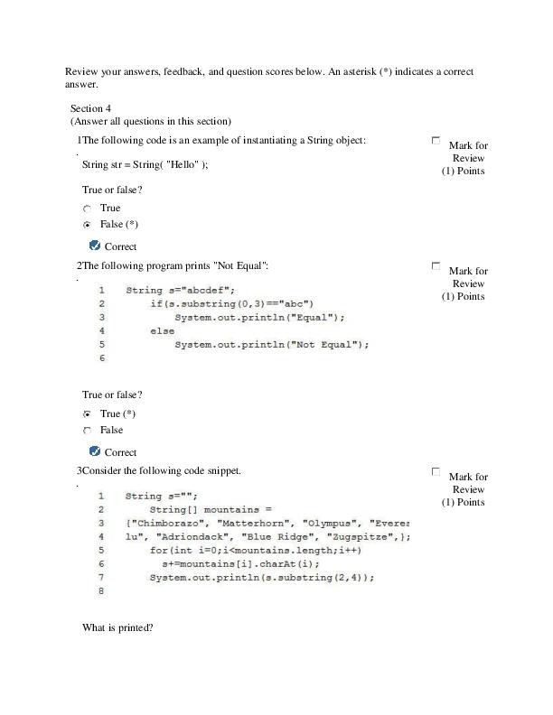 DOC) Java Fundamentals FinalTest Exam   Dwi M - Academia edu