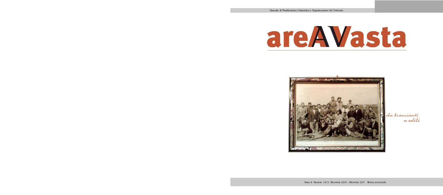 Di Pinto Bisceglie Materiale Edile pdf) la lettura del paesaggio tra pianificazione e mutazione