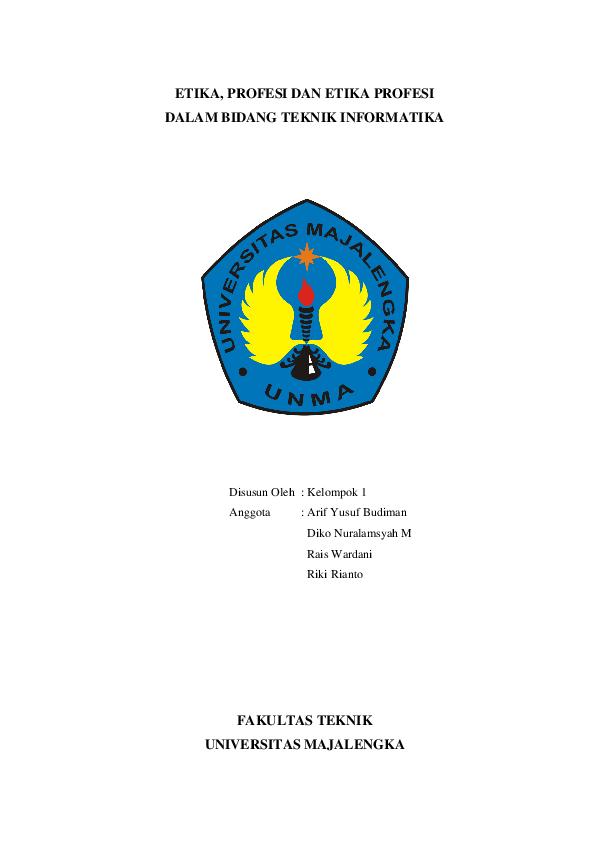 Contoh Makalah Etika Profesi Teknologi Informasi Dan Komunikasi Barisan Contoh