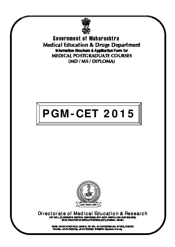 (PDF) Medical Education & Drugs Department Information