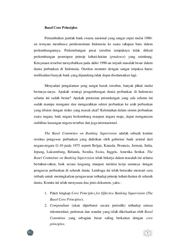 Doc Bank Dan Lembaga Keuangan Arsitektur Perbankan Di Indonesia Laili Riziiq Ma Rufaa Academia Edu
