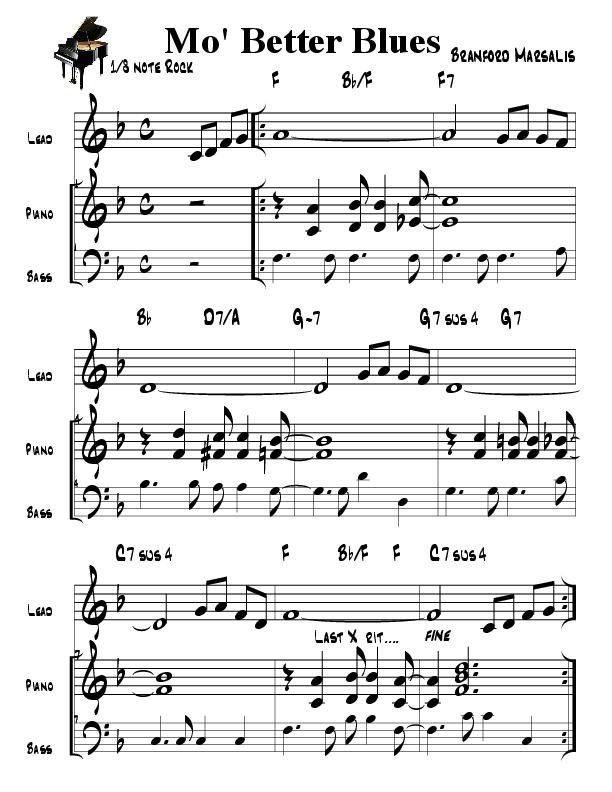 PDF) mo better blues piano in f   Emilio Saugar - Academia edu