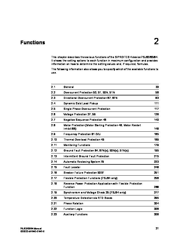 PDF) manual relay siemens | Agus Latif - Academia.edu