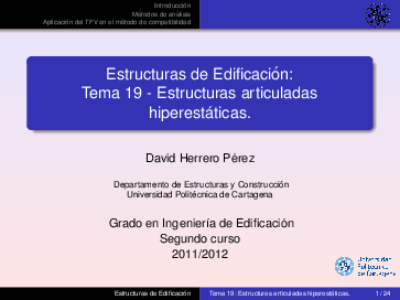 Pdf Estructuras De Edificación Tema 19 Estructuras