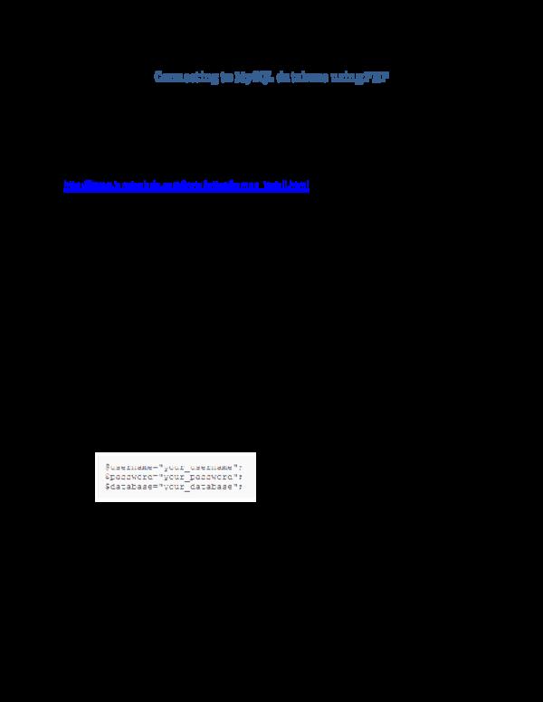 PDF) php | Deresse Wudu - Academia edu