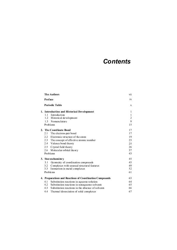 PDF) Coordination Chemistry - Fred Basolo Ronald C  Johnson, 1986