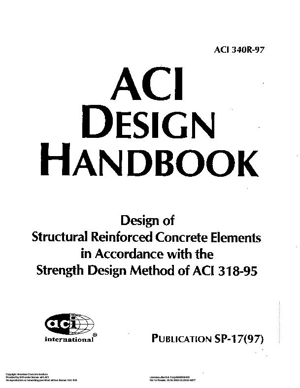 PDF) ACI DESIGN HANDBOOK   Muhammad Rasyid Angkotasan - Academia edu