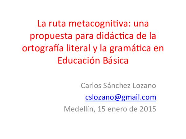 Pdf Didáctica De La Ortografía Literal Y La Gramática