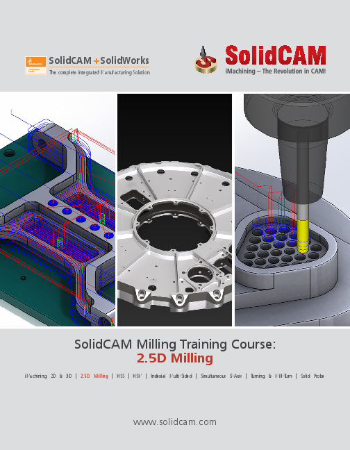 PDF) SolidCAM Milling Training Course: 2 5D Milling