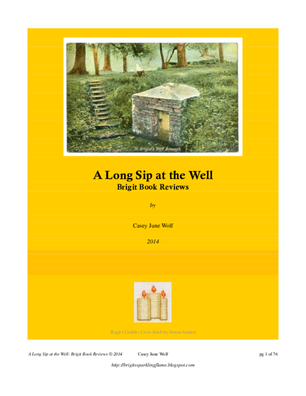 PDF) A Long Sip at the Well: Brigit Reviews | Casey June