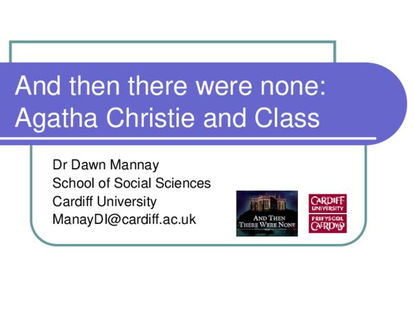 Agatha Christie And Then There Were None Pdf