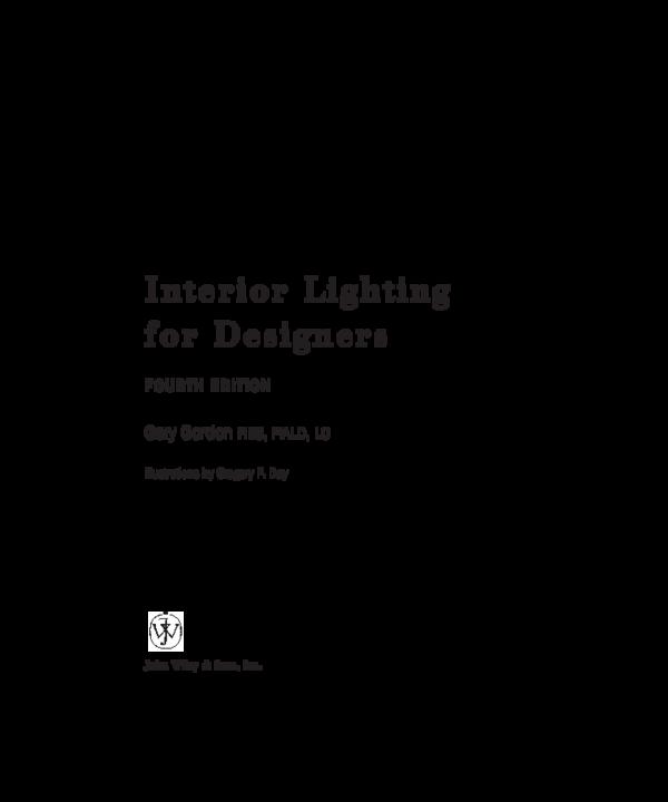 PDF) Interior-lighting | Nguyễn Hoàng Phương Hạnh - Academia edu