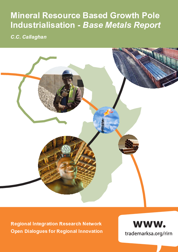 PDF) Mineral Resource Based Growth Pole Industrialisation