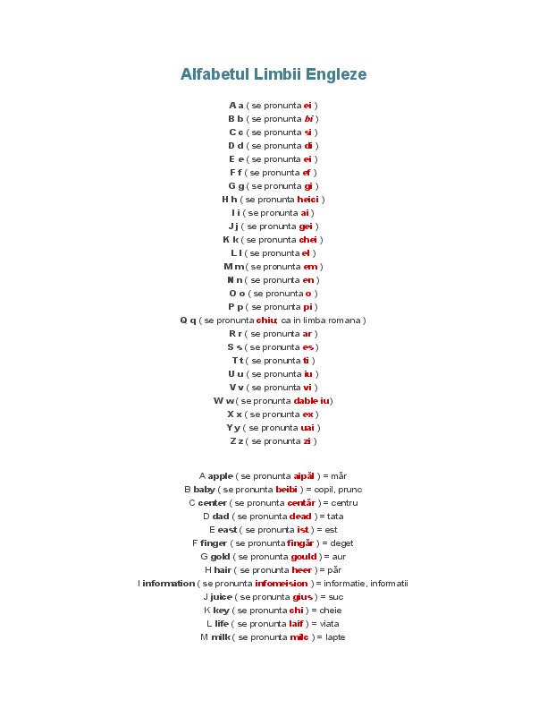 Propozitii cu zilele saptamanii in engleza