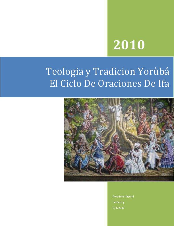 PDF) ORACIONES DE IFA | AWO IFASEUN AWOJOGBO OLUSOLA OGUNSÍ