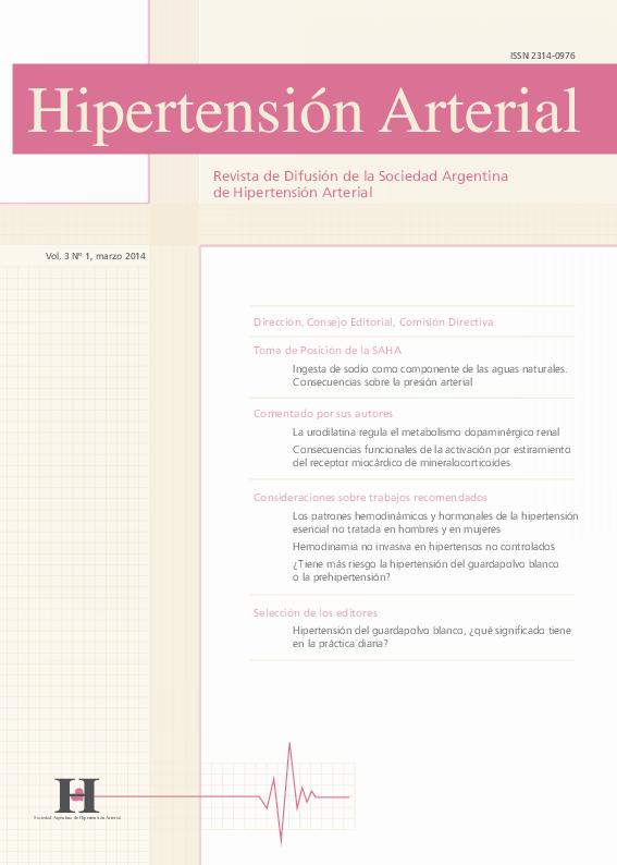 Definición de prehipertensión