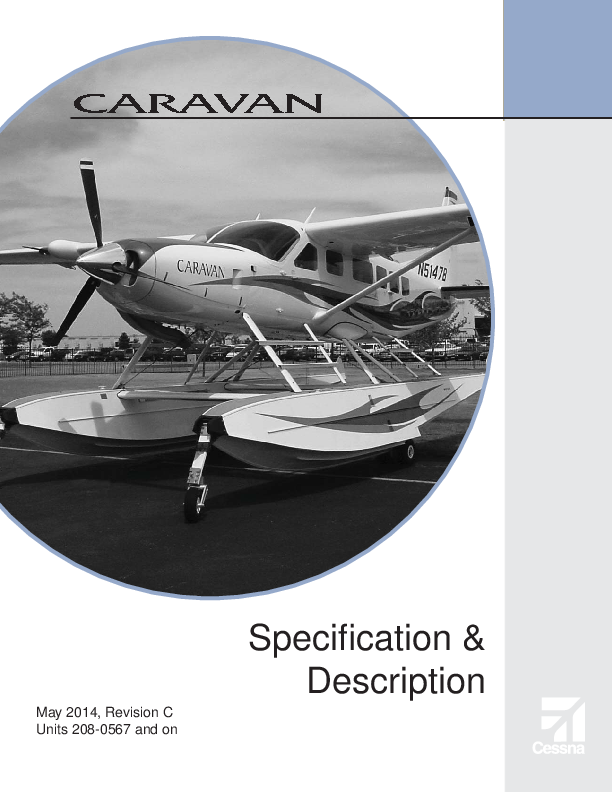 PDF) Cessna 208 Caravan Specifications | Alexandra Andreea