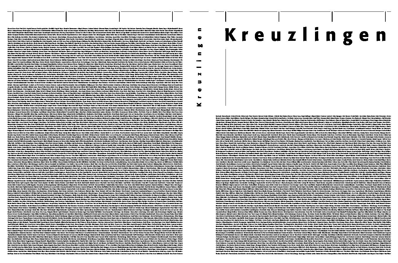 Kreuzlingen  Kinder, Konsum und Karrieren, 1874-2000  Ed  by