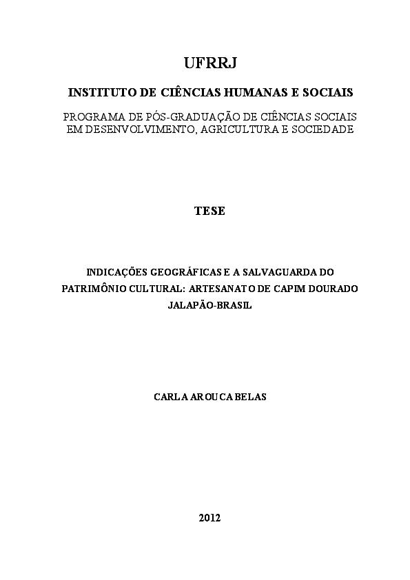 ea3b868de PDF) Indicações Geográficas e Salvaguarda do Patrimônio Cultural ...